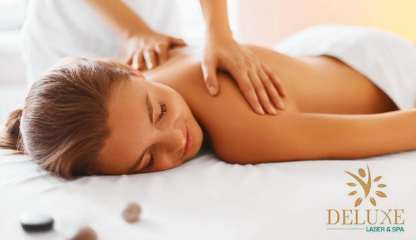 A Luxury Full Body Swedish Massage at Deluxe Laser & Spa!