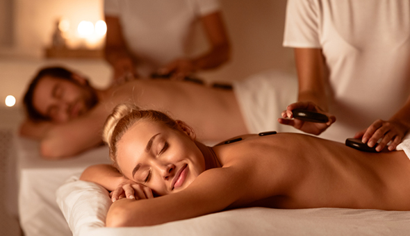 A Luxury Couples Spa Package with Sparkling Wine & Chocolates at Body & Soul, Paardevlei, Somerset West!