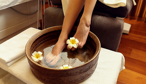 Treat Your Feet to the Luxury Foot Spa Experience at Aurora Day Spa, Century City!
