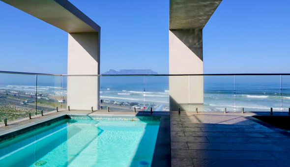 The 4-Star Blaauwberg Beach Hotel: Luxury Getaway for 2 People in a Sea Facing Room, including Breakfast at only R799!