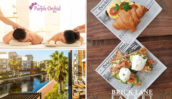 Couples Half Day Spa Package at The Purple Orchid Spa, Century City!