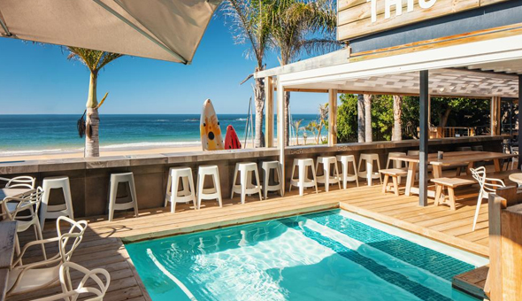 A 2 Night Stay for 2 People in a Sea Facing Room, including Breakfast, a Restaurant Dining Voucher and a Romantic Turndown with Gourmet Chocolates & a Bottle of Wine at The Bungalow!