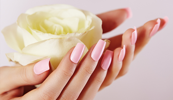 A Full Gel Manicure or Full Gel Pedicure at Candi Coated Beauty Bar, Claremont!