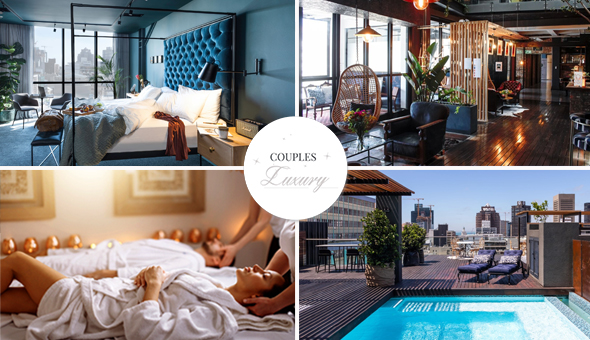 Exclusive: Luxury Getaway for 2 People, including Breakfast and a Couples Spa Package!