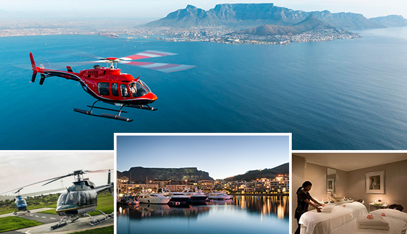 The Perfect V&A Waterfront Gift: A Scenic Hopper Helicopter Tour and a Luxury Spa Experience!