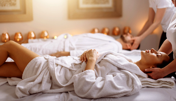Couples Half Day Spa with Gourmet Breakfast or Lunch!