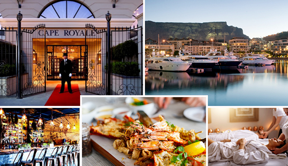 A Luxury Couples Spa Package and a Seafood Dining Experience for 2 People!