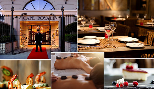 Valentine's Day Exclusive: Couples Spa Luxury and an Exclusive 3-Course Gourmet Dining Experience for 2 People!