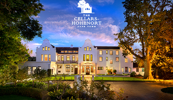 The 5-Star Cellars-Hohenort Hotel in Constantia: A 2 Night Stay for 2 People, including Breakfast Buffet, Minibar, Spa Bonuses and a Romantic Turndown with Rose Petals, Gourmet Chocolates & Bubbly!