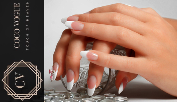 A Luxury Manicure or Pedicure with Gel at Coco Vogue Beauty Bar, Tygervalley!