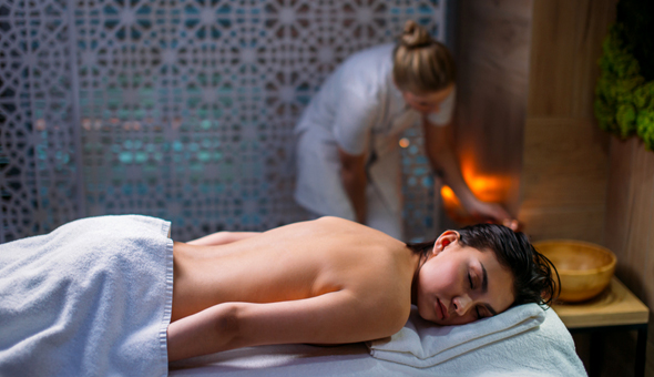 A Luxury Swedish or Aromatherapy Back of Body Massage OR Back, Neck & Shoulder Massage - for only R89!