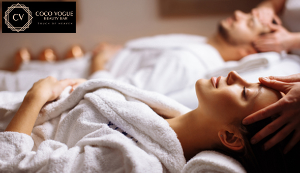 A Luxury Couples Spa Package at Coco Vogue Beauty Bar, Tygervalley! Includes: Welcome Ritual, 4 Luxury Couples Spa Treatments, Mocktails & Lindt Decadence!