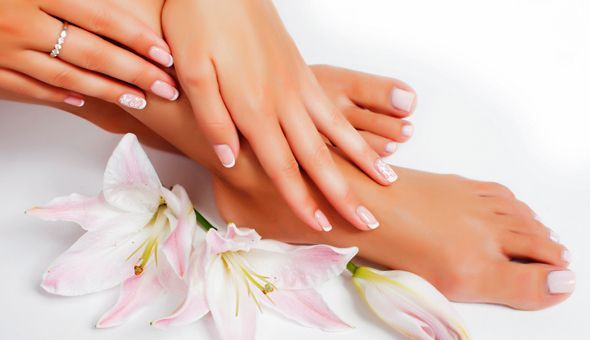 A Full Gel Manicure or Full Gel Pedicure at Pam Nails, Newlands!