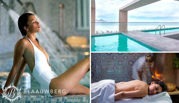 Couples Half-Day Luxury Spa Experience with Buffet Breakfast or Gourmet Lunches at Blaauwberg Wellness Spa, located at Blouberg Beach Hotel!