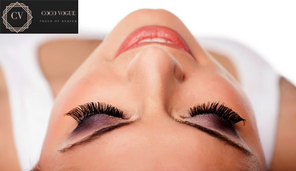A Full Set of Eyelash Extensions at Coco Vogue Beauty Bar, Tygervalley!