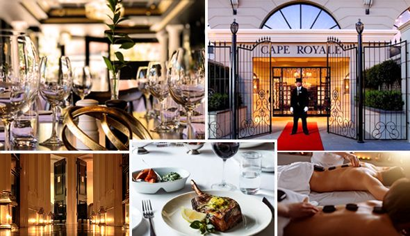 Exclusive: Couples Spa Luxury & an Exclusive 2-Course Gourmet Dining Experience for 2 People!
