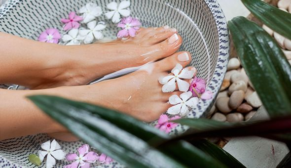 A MediHeel Pedicure at Glamden, located at Kavanagh's Hair & Beauty, Sea Point!
