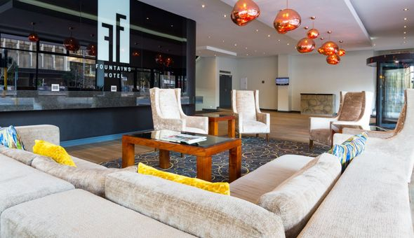 A 2 Night Stay for 2 People in a Superior Room, including Breakfast at The 4-Star Best Western Fountains Hotel, Cape Town!
