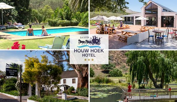 Family Getaway: A 2 Night Stay for 2 Adults & 2 Kids, including a Full Breakfast Buffet at Houw Hoek Hotel, Kogelberg Nature Reserve!