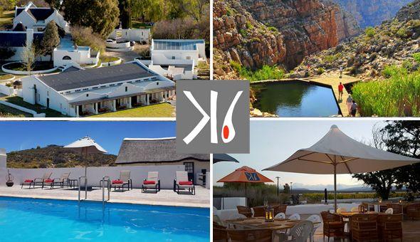 Luxury Getaway for 2 People, including Breakfast at Karoo 1 Hotel Village, Touws River!