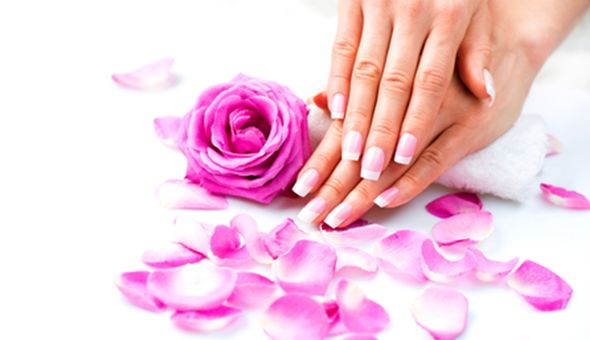 A Full Manicure with Gel or a Full Medi-Pedi with Gel at Salon Miabelle!
