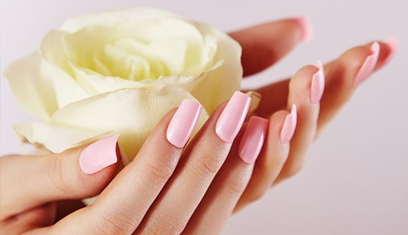 A Deluxe Manicure or Deluxe Pedicure at Dynasty Hair and Beauty!