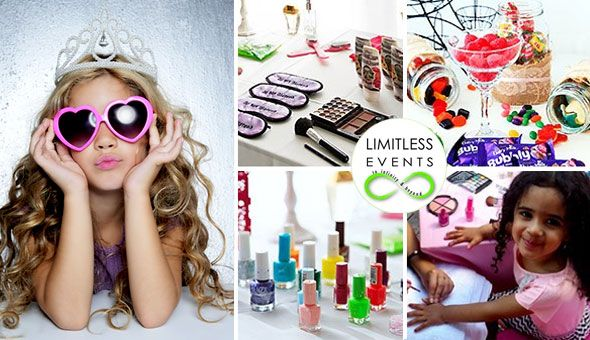 Treat your Little Princess and her Friends to a Pamper Party that will make their dreams come true! Indulge their whimsical fancies with Mani's & Pedi's, Make-Up Session, Face Masks, Fashion Show, Photo Shoot, Make-up Gift Bags & More!
