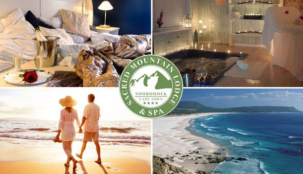 The 4-Star Sacred Mount Lodge & Spa: A 2 Night Stay for 2 People in a Luxury Suite, including a Romantic Breakfast Picnic with Bubbly in The Secret Garden, Breakfast under The Ancient OaK Trees and a Couples Spa Voucher!