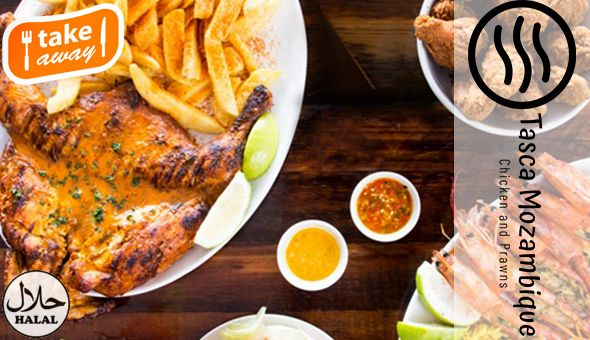 Takeaway: Family Feast Full House Combo at only R199! Includes: Full Flame Grilled Chicken, 2 Chick Burgers, Large Chips and a Large Coleslaw!