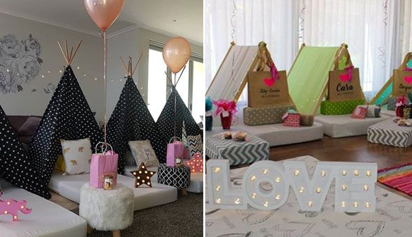 Glampout with Limitiless Events! The Glampout Teepee Tent Party for 10 Kids. Includes: Delivery, Activation & Setup, Glampout Teepee Tents, Fairy Lights, Sweet Treats, Travel Kits & More!