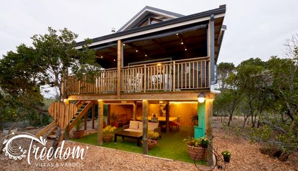 2 Nights for 4 People in a Private Luxury Treehouse villa at Treedom Villas & Vardos!