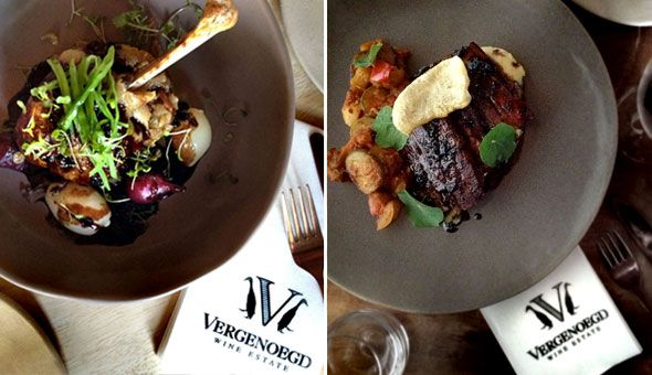Vineyard Lunches at Vergenoegd Wine Estate in Stellenbosch. An Exclusive 3-Course Dining Experience for up to 4 People!
