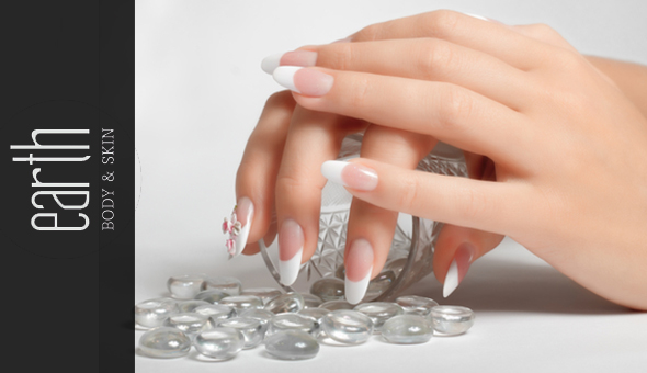 A Deluxe Manicure or Deluxe Pedicure at Earth, Body & Skin Claremont!