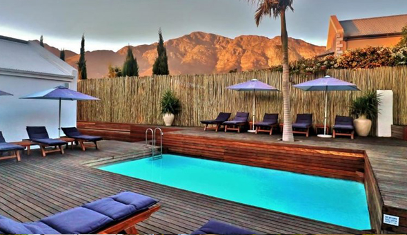 Luxury Getaway for 2 People in a Deluxe Room, including Breakfast at theLAB, Franschhoek!
