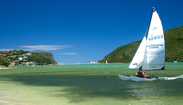 A 2 Night Stay for 2 People, including Breakfast and a Bottle of Wine at The Multi-Award Winning Leisure Isle Lodge, Knysna!