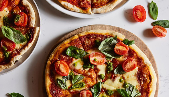 Exclusive: Gourmet Pizzas & Wine for 2 People at Misfits by Ideas Cartel, The Old Foundry, De Waterkant!