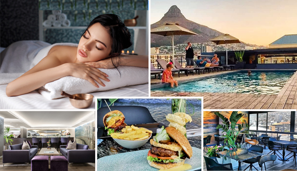 Half Day Spa Package with Gourmet Breakfast or Lunch at The Purple Orchid Spa, located at The 4-Star Hyde Hotel, Sea Point!