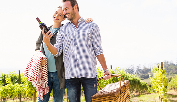 A Gourmet Picnic with a Bottle of Wine and an Exclusive Wine Tasting Experience for 2 People at Kirabo Private Cellar & Vineyards!
