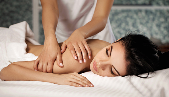 A Luxury Full Body Massage at Nude Beauty, Century City!