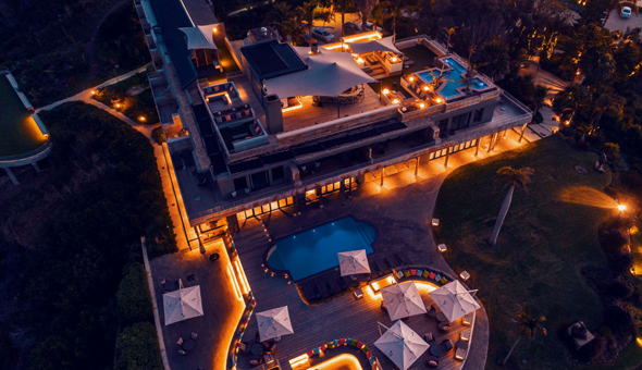 A 2 Night Stay for 2 People in a Sea Facing Room, including Breakfast, a Restaurant Dining Voucher and a Romantic Turndown with Gourmet Chocolates & a Bottle of Wine at Sky Villa Boutique Hotel!