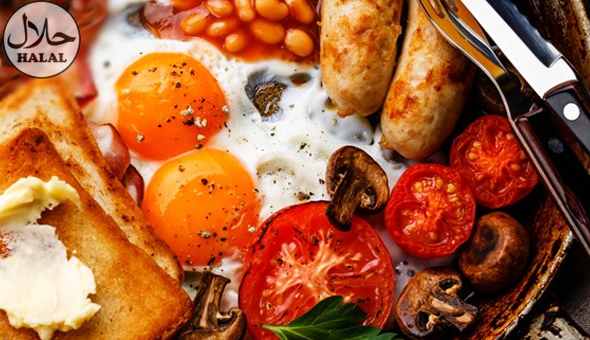 Halaal: Gourmet Breakfasts and Coffees for 2 People at Bean Tree Café! Each Breakfast includes: Eggs, Steak, Sausages, Macon, Mushrooms, Tomato, Chips & Toast!