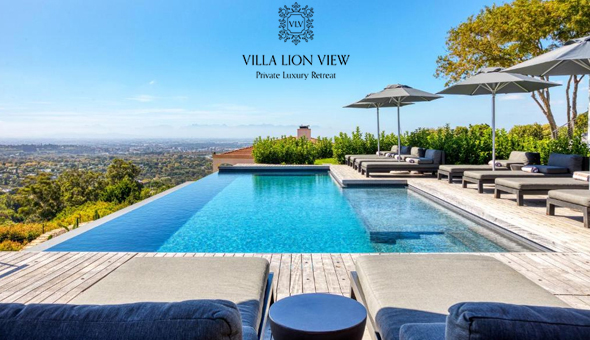 Exclusive Getaway for 2 People in Luxury Suite, including Breakfast, Welcome Drinks and a Bottle of Wine at Villa Lion View Private Luxury Retreat, Constantia!