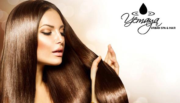 A Brazilian Cacau Hair Treatment at Yemaya Urban Spa & Salon, 15 on Orange Hotel!